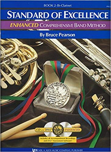 Standard of Excellence Enhanced Clarinet Book 2