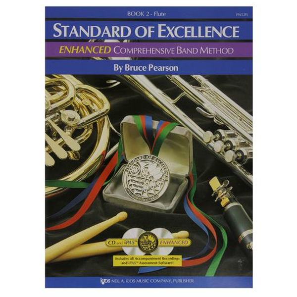 Standard of Excellence Enhanced Flute Book 2