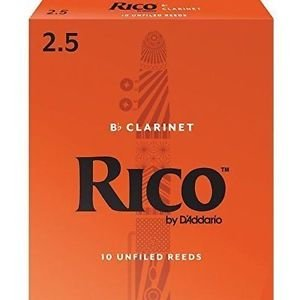 Rico Clarinet Reeds 2.5 (10 Pack)