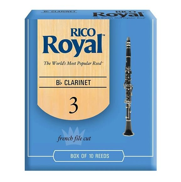 Rico Royal Bb Clarinet Reeds 3.0 (10 Pack)