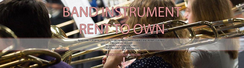 Band Instrument Rentals | Spots Music Center | Dubois, PA
