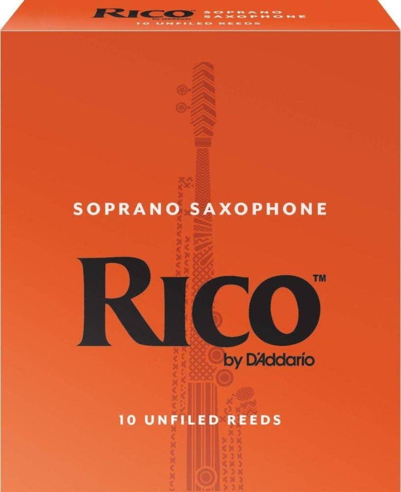 Rico Soprano Sax Reeds 2.5 (25 Pack)