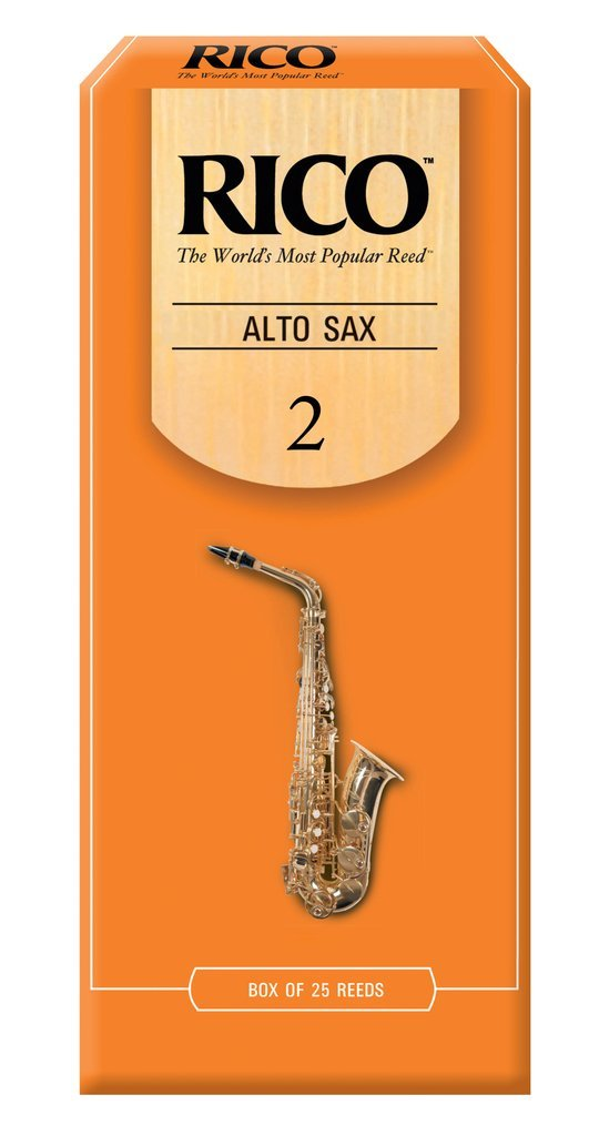 Rico Alto Sax Reeds 2.0 (25 Pack)