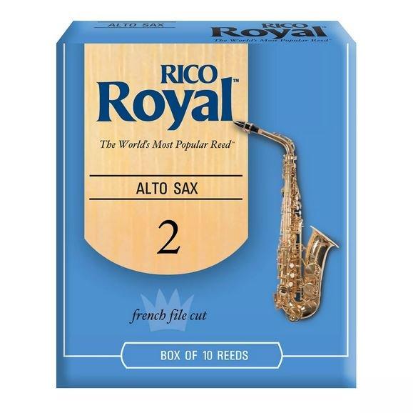 Rico Royal Alto Sax Reeds 2.0 (10 Pack)