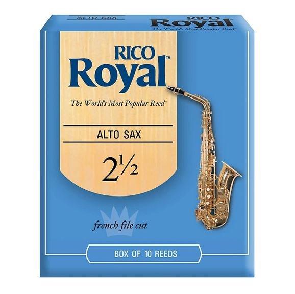 Rico Royal Alto Sax Reeds 2.5 (10 Pack)