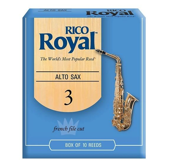 Rico Royal Alto Sax Reeds 3.0 (10 Pack)