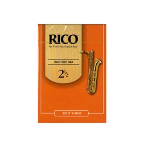 Rico Baritone Sax Reeds 2.5 (10 Pack)