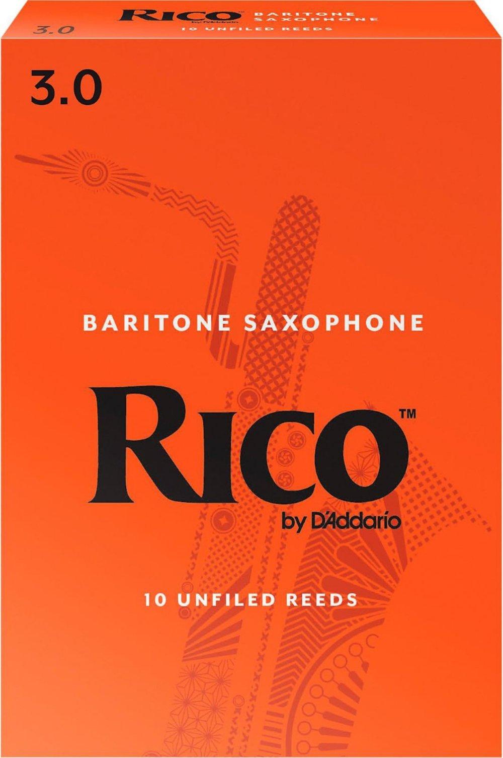 Rico Baritone Sax Reeds 3.0 (10 Pack)