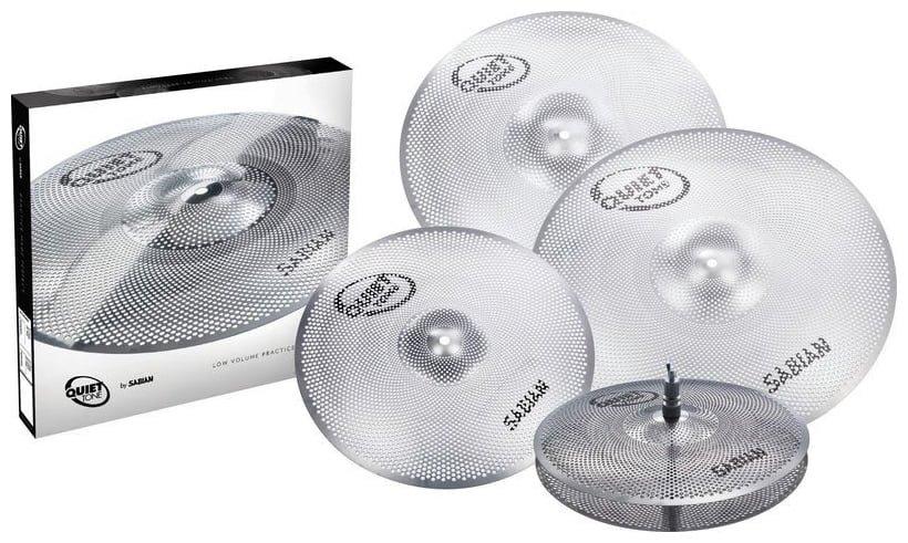 Sabian Quiet Tone Practice Cymbals Box Set - 14/16/18/20