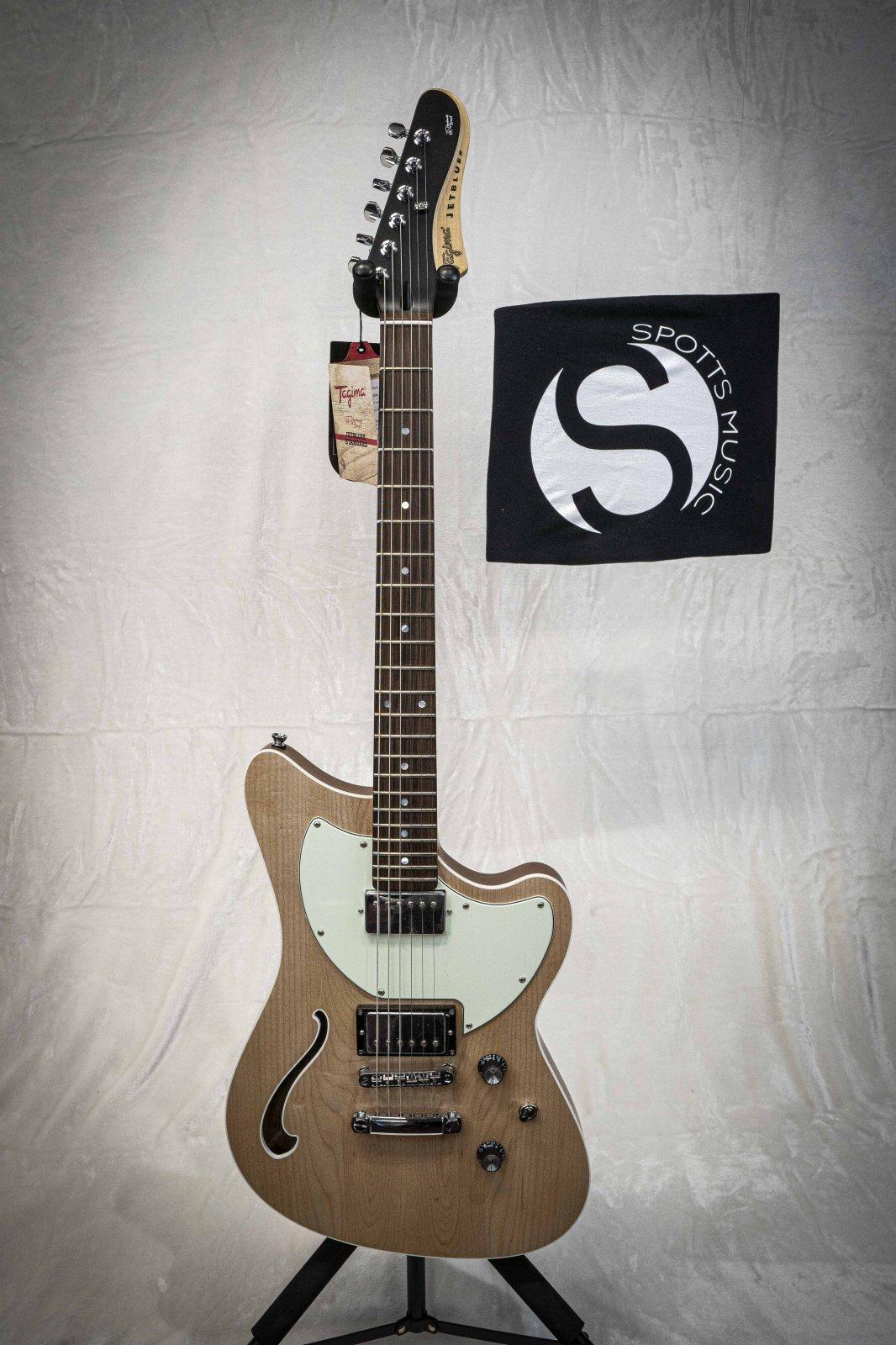 Tagima Jet Blues Standard Electric Guitar - Natural Satin