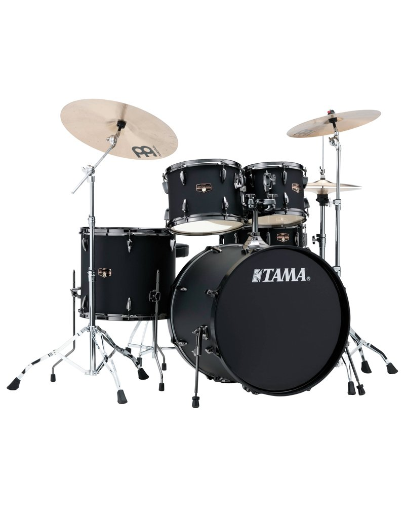 Tama Imperial Star 5 Piece w/ Cymbals Blacked Out Black