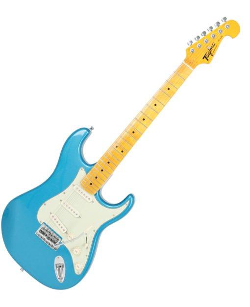 Tagima TG-530 Woodstock Series Electric Guitar Lake Placid Blue