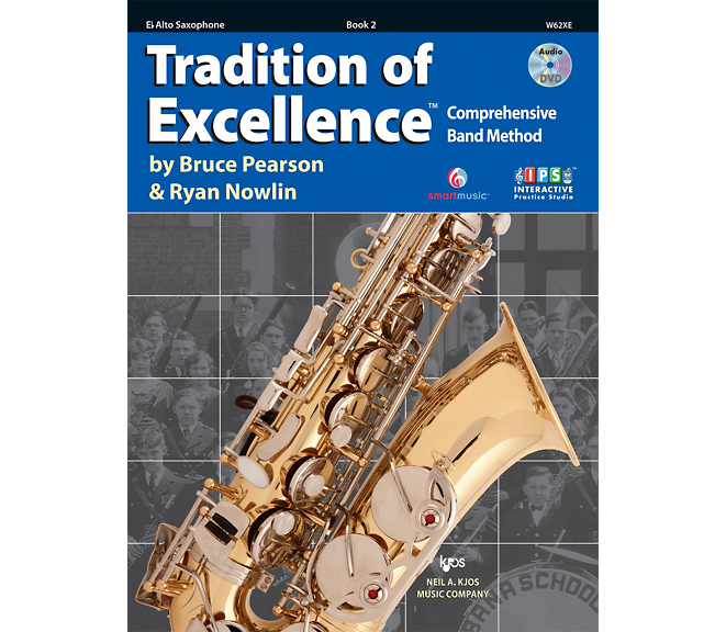 Tradition of Excellence Alto Sax Book 2