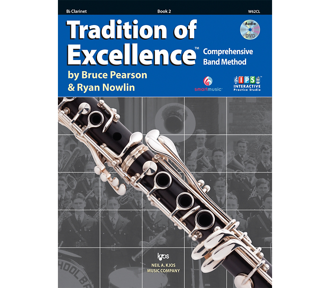 Tradition of Excellence Clarinet Book 2