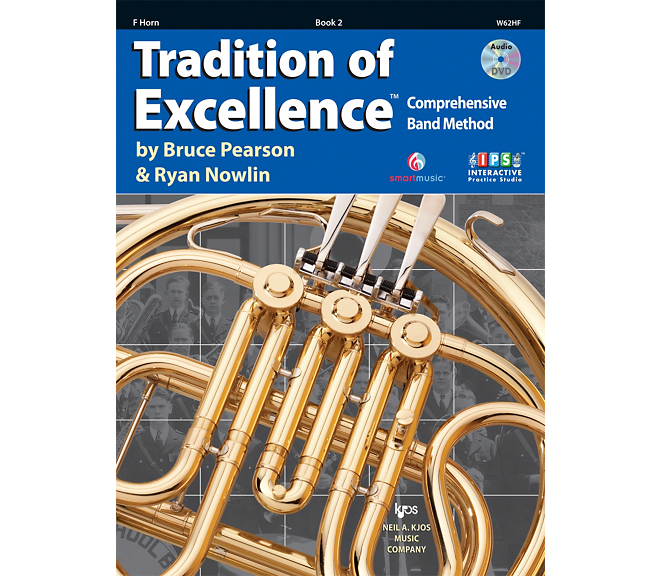 Tradition of Excellence French Horn Book 2