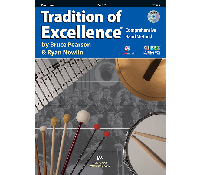 Tradition of Excellence Percussion Book 2