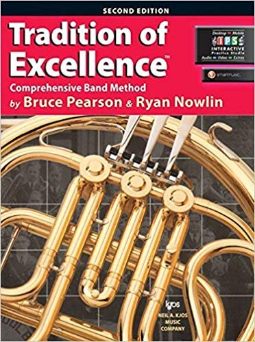 Tradition of Excellence Comprehensive Band Method French Horn Book 1