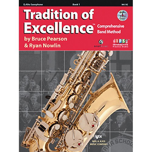 Tradition of Excellence Comprehensive Band Method Bb Tenor Saxophone Book 1