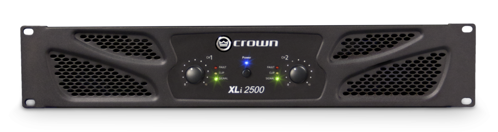 Crown XLi2500 750wx2 Power Amp