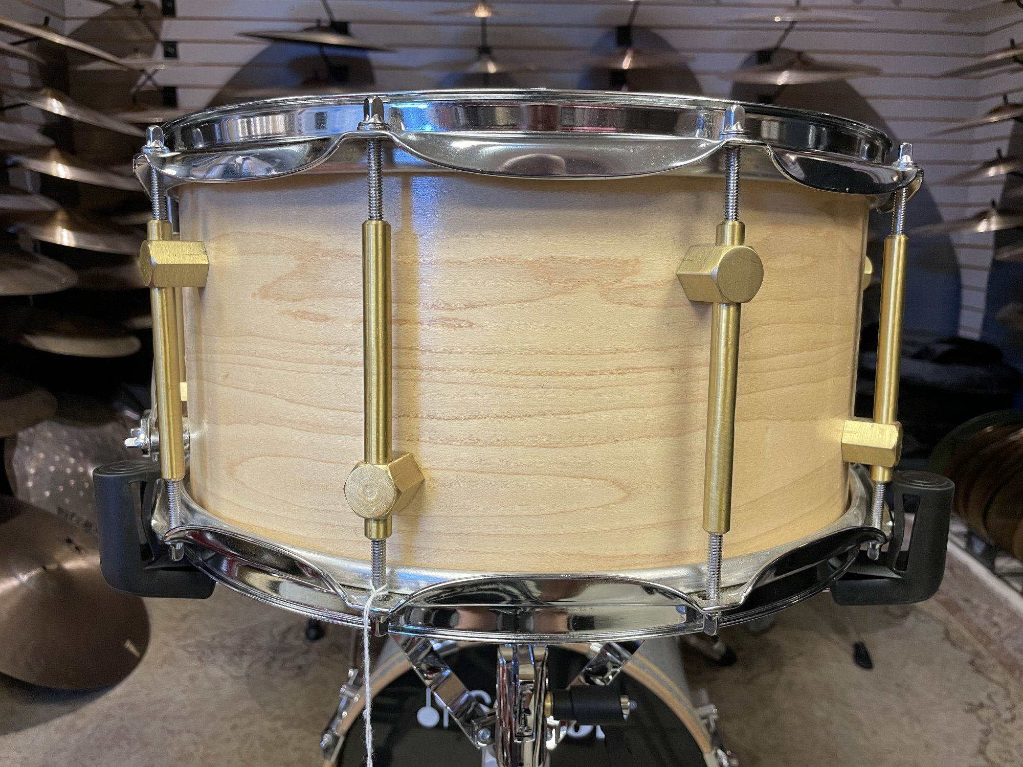 Custom Made Maple Snare Drum 6.75 x 14