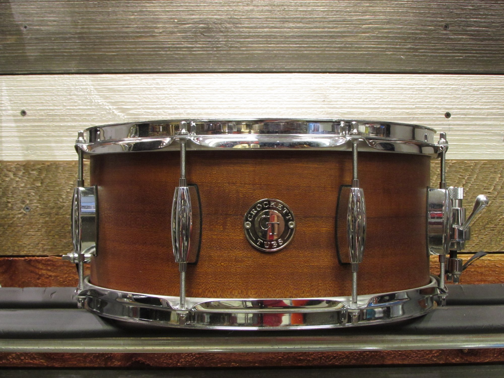 Crockett Tubs 3 ply Mahogany Poplar Snare Drum 6.5 x 14
