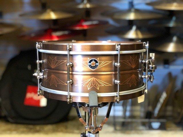 Q Drums Union Copper Snare Drum 6 x 14
