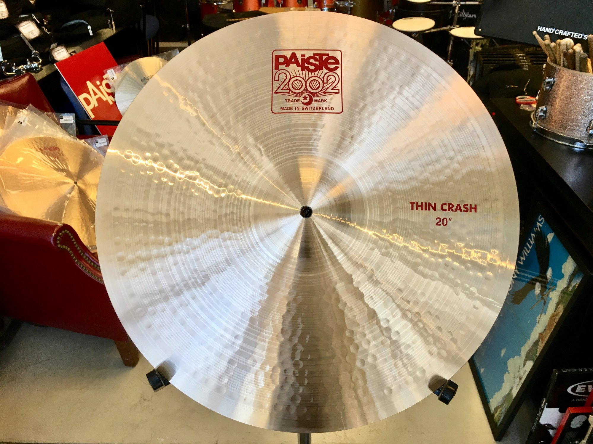 Paiste 2002 20 Thin Crash