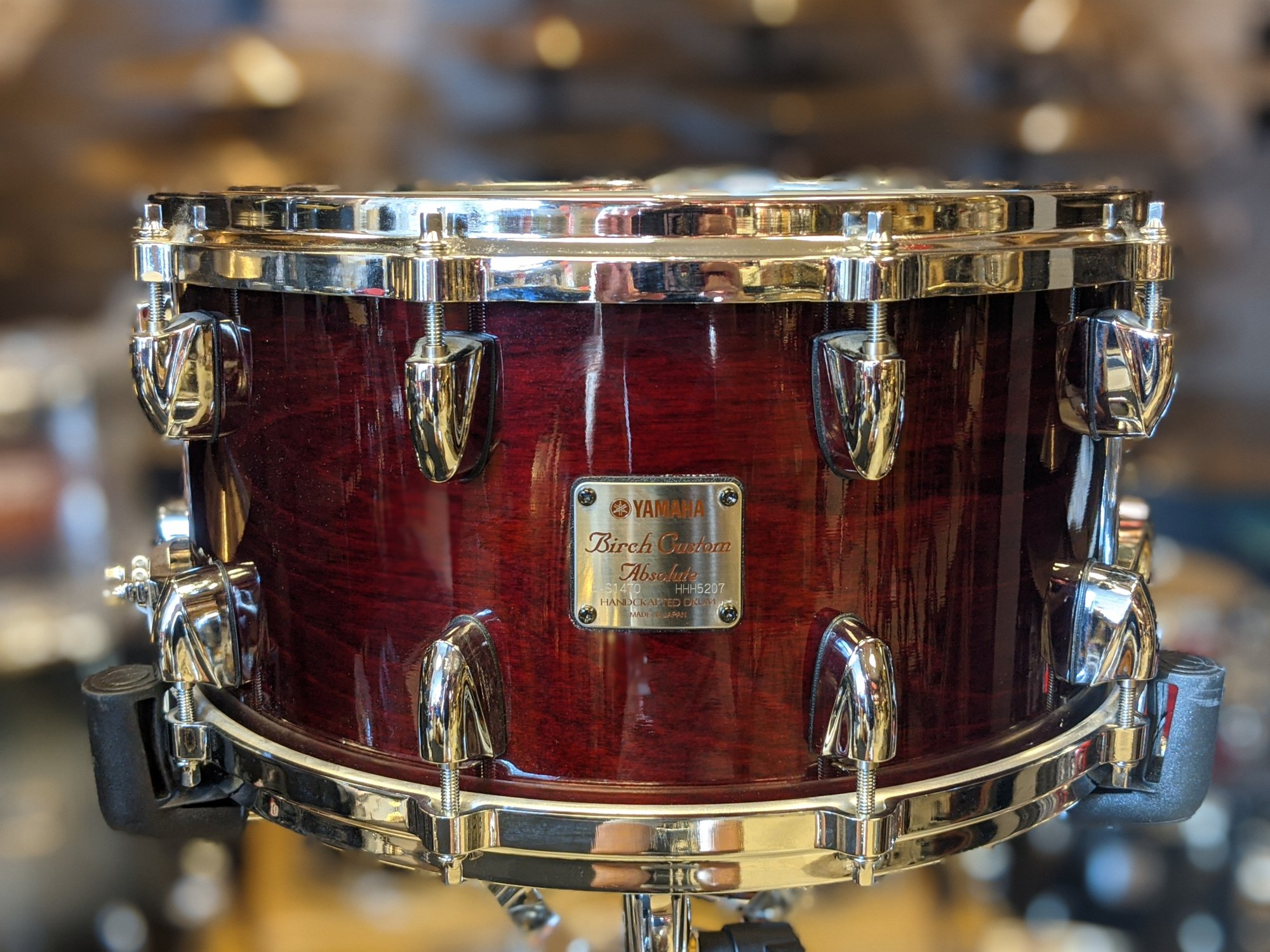 Yamaha Birch Custom Absolute Snare Drum 7 x 14