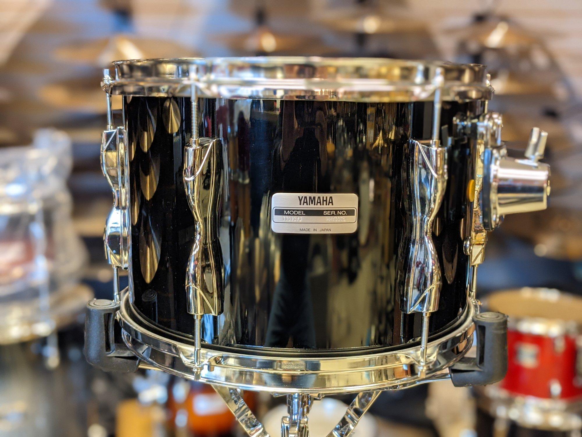 Yamaha Recording Custom Tom Piano Black 9 x 13