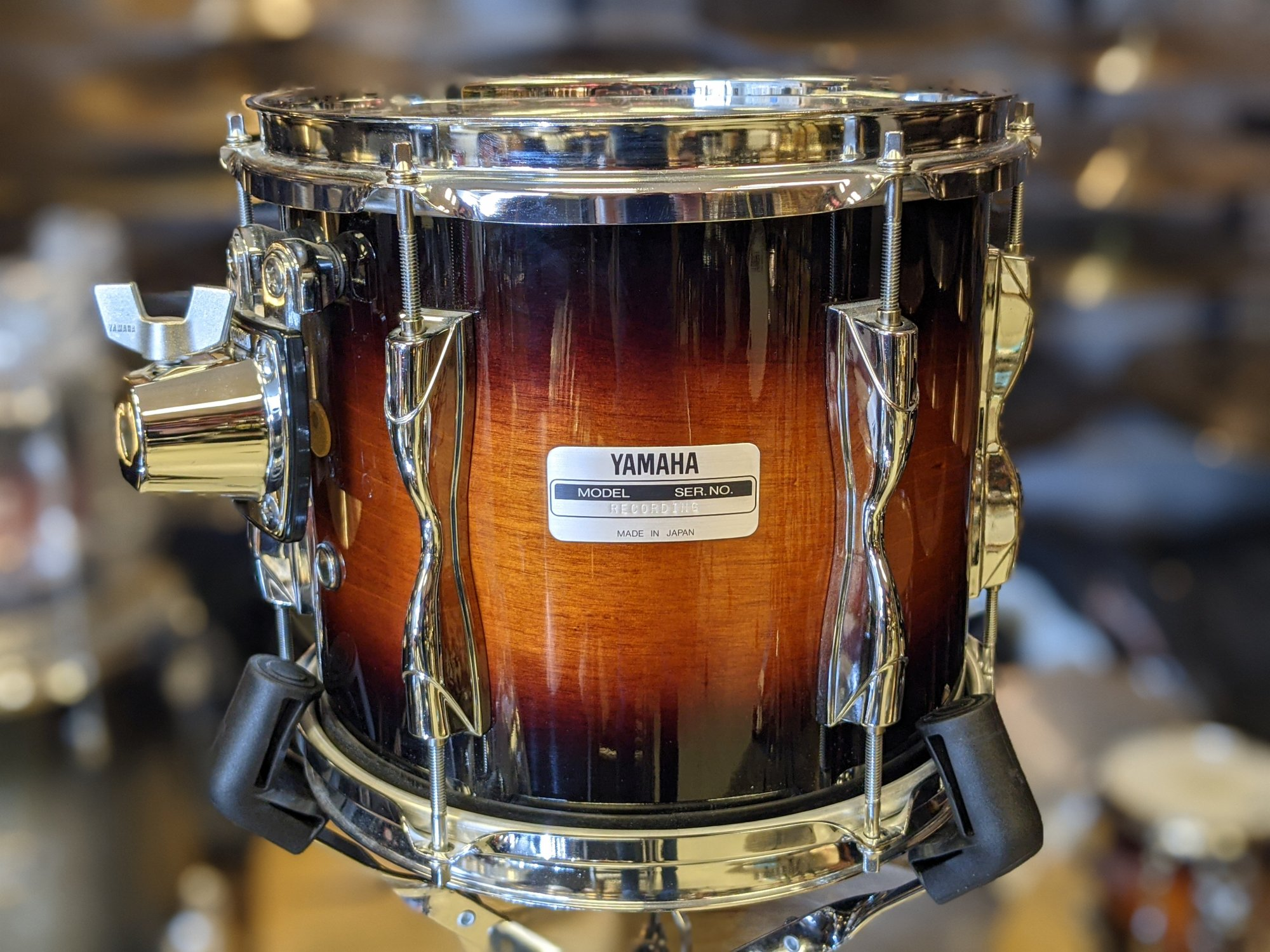 Yamaha Recording Custom Tom Antique Sunburst 9 x 10