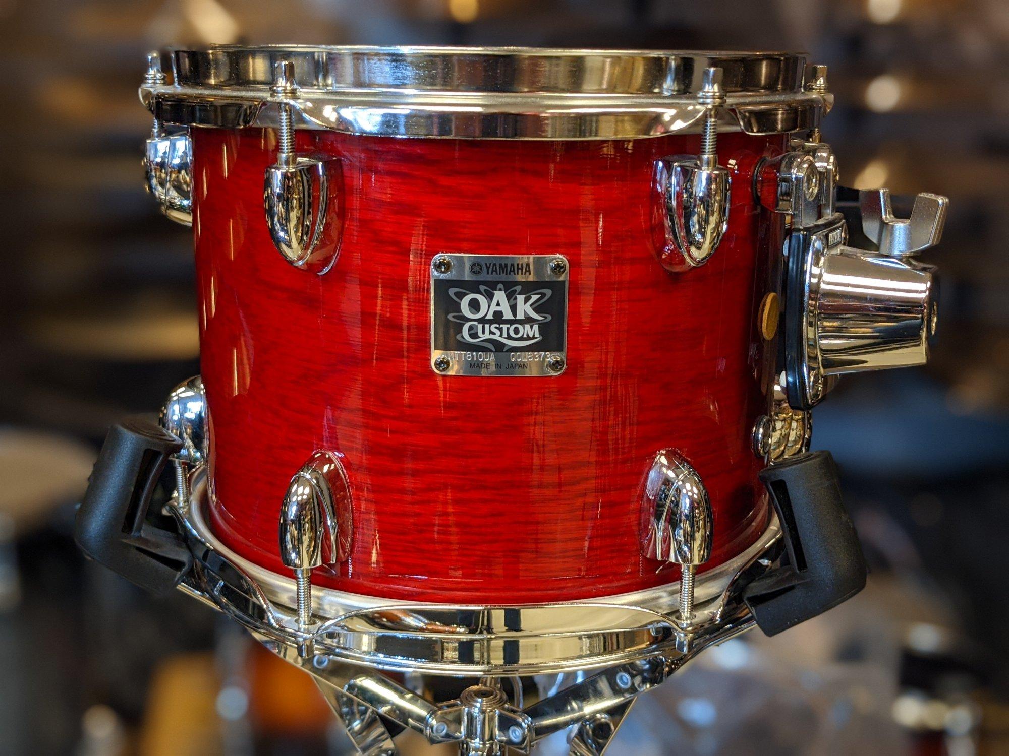 Yamaha Oak Custom Tom Red 8 x 10