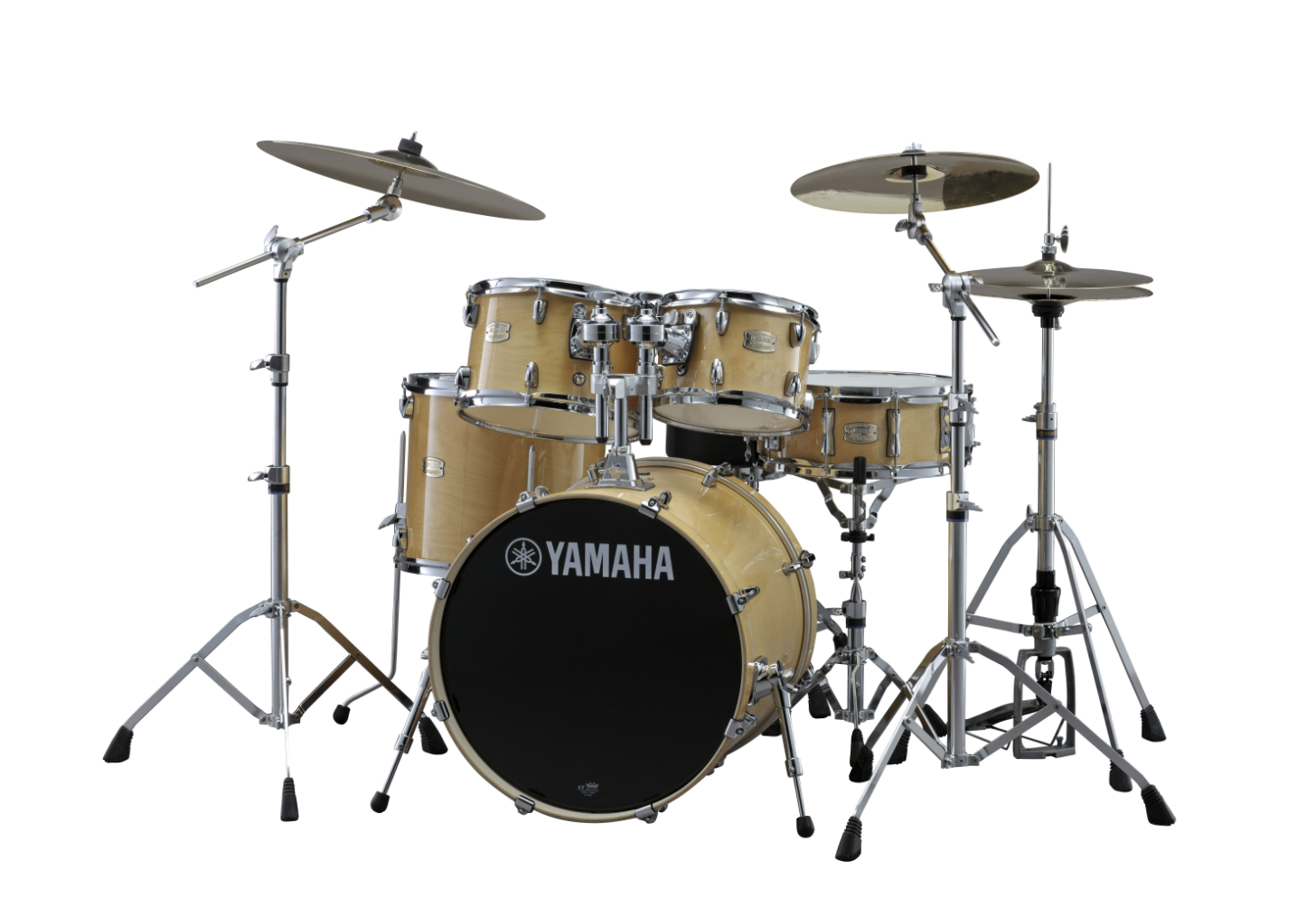 Yamaha Stage Custom 5 piece Drumset