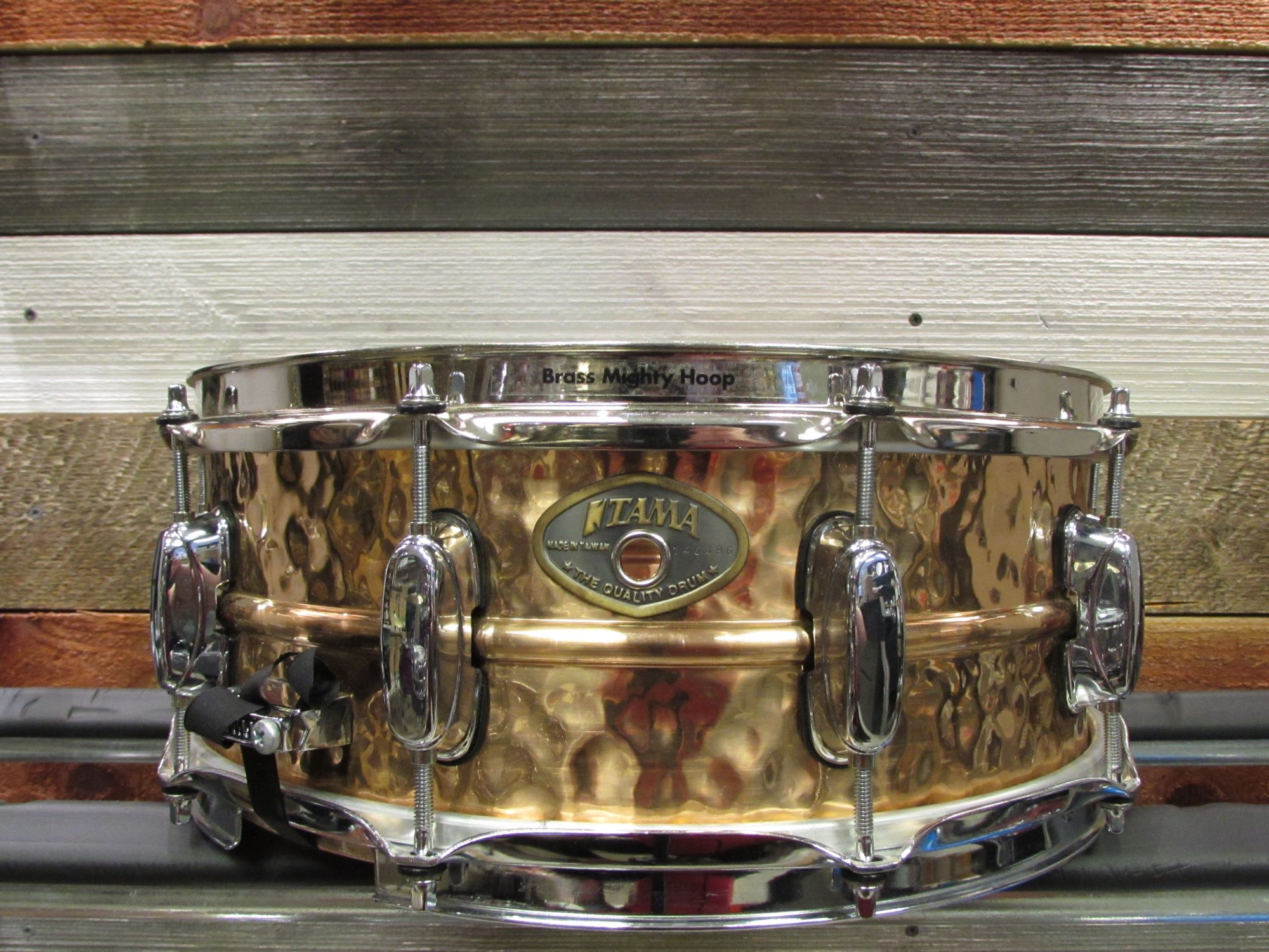 Tama Power Metal Hammered Bronze Snare 5.5 x 14