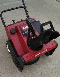 38409 Toro CCR2400 GTS 4 HP 2 Cycle - Used