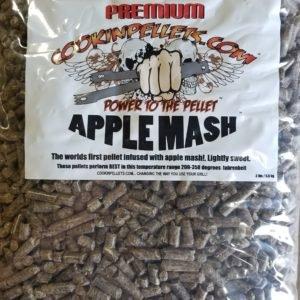 COOKIN PELLETS APPLE MASH 40# BAG
