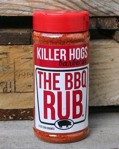 KILLER HOGS THE BBQ RUB 12 OZ