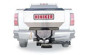 SS1000 Hiniker 1000 Tailgate Spreader 10 cu ft. Stainless Steel 2 Receiver Hitch