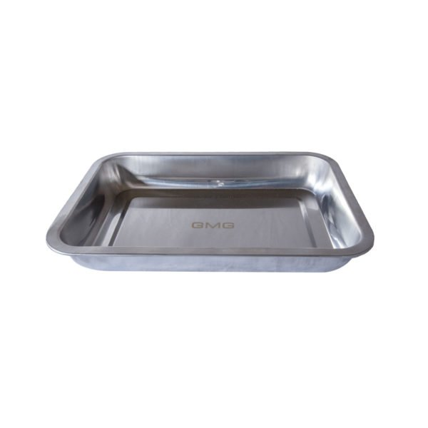 GREEN MOUNTAIN GRILL STAINLESS STEEL PAN LARGE 14 X 10