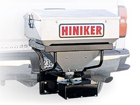 SS600 Hiniker 600 Tailgate Spreader 6 cu ft. Stainless Steel 2 Receiver Hitch