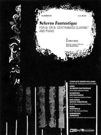 Reed, Alfred: Scherzo Fantastique for Bb or Eb Contrabass Clarinet & Piano