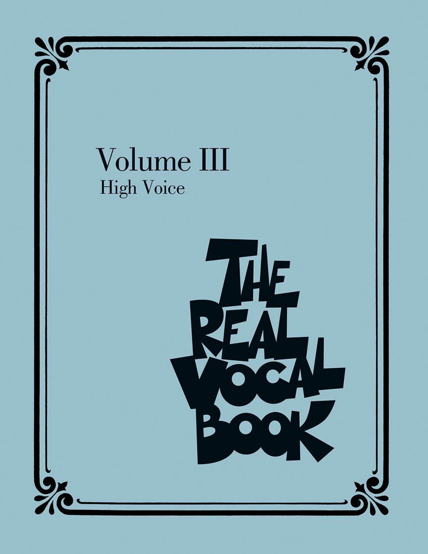 The Real Vocal Book Volume III