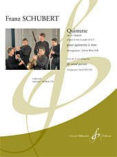 Schubert, Franz (arr. Walter): Quintette for Woodwind Quintet from the D 471 String Trio