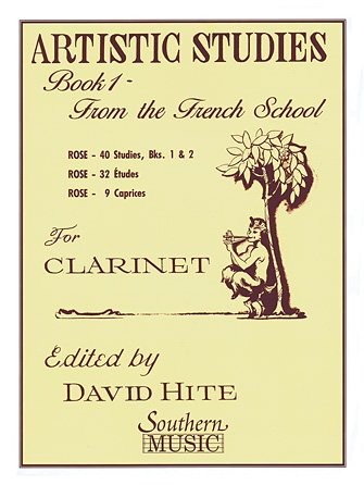 Hite, David: Artistic Studies Book 1 - From the French School