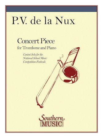 de la Nux, P.V.: Concert Piece for Trombone & Piano