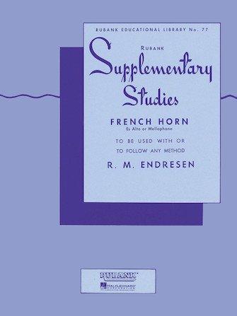 Endresen, R.M.: Rubank Supplementary Studies for French Horn