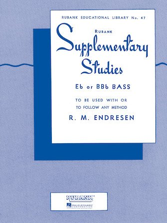Endresen, R.M.: Rubank Supplementary Studies for Eb or BBb Bass