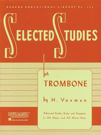 Voxman, Himie: Selected Studies for Trombone