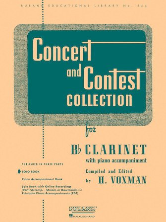 Concert & Contest Collection - Clarinet
