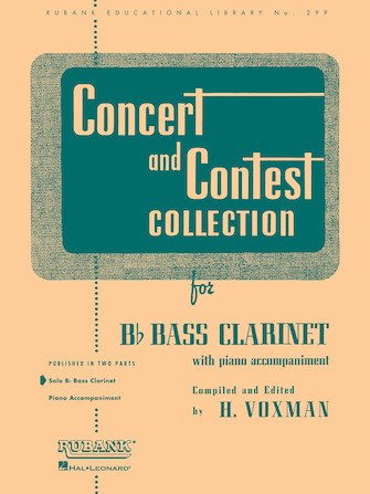 Concert & Contest Collection - Bass Clarinet