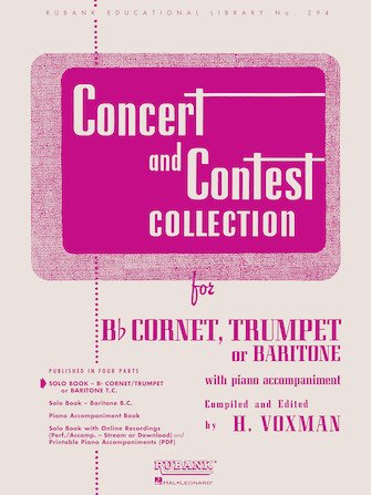 Concert & Contest Collection - Cornet, Trumpet or Baritone